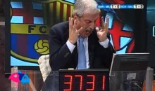 AC Milan Commentator Tiziano Crudeli Has a Meltdown During 4-0 UCL Loss to Barcelona (Video)