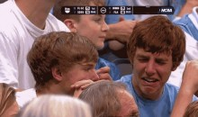 NCAA March Madness GIF: UNC Cry Baby