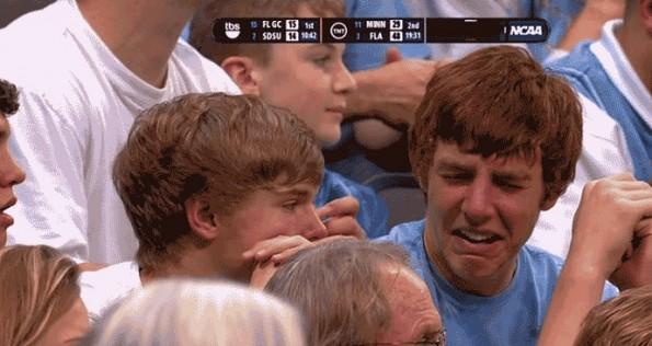 unc crying fan
