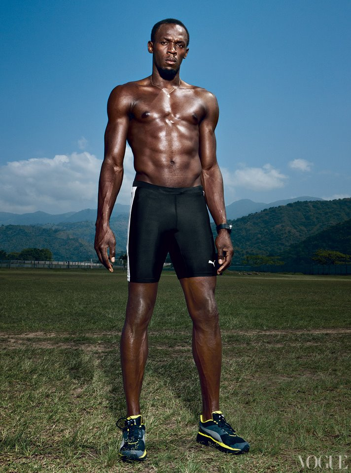 usain bolt - fittest bodies in sports
