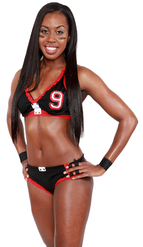 1 Atlanta Steam - Brittney Sharp - hottest lfl teams 2013