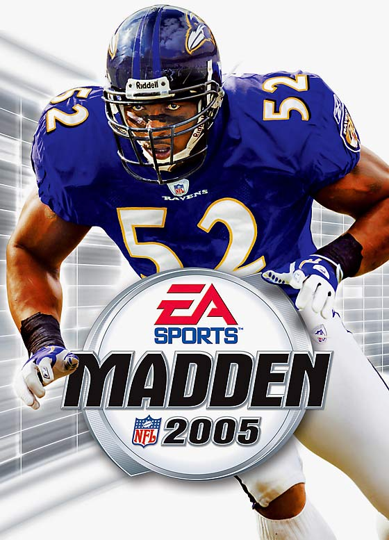 10 Madden NFL 2005 (Ray Lewis) - madden nfl covers