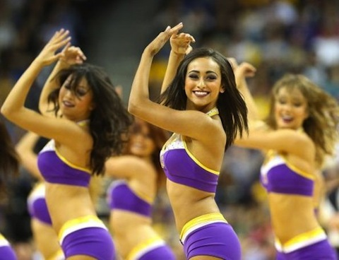 10 laker girls 2012-13 - hottest cheerleaders 2013 nba playoffs