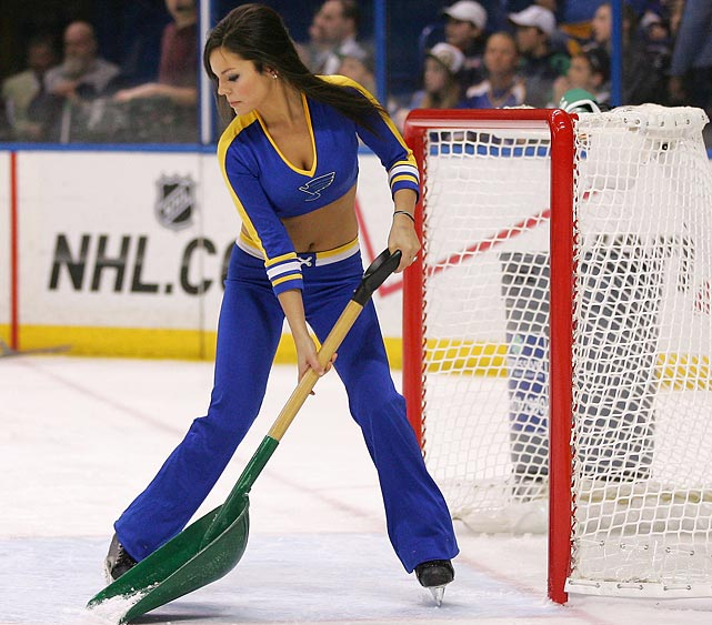 10 st. louis blues ice girls - nhl ice girls and cheerleaders 2013