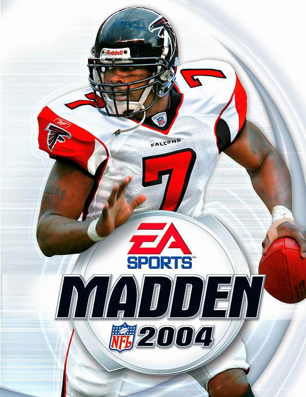 11 Madden NFL 2004 (Michael Vick) - madden nfl covers