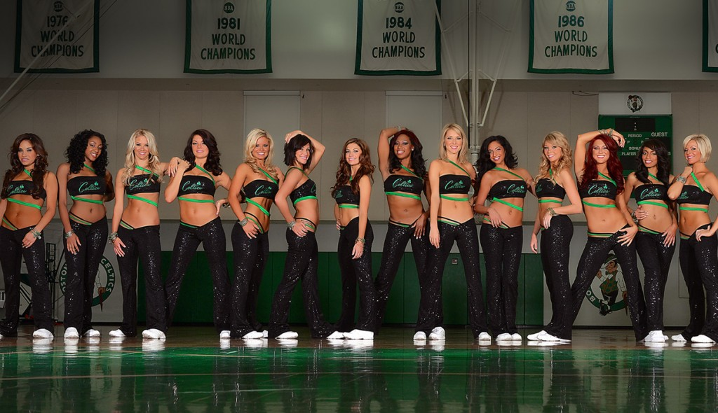 12 boston celtics cheerleaders - hottest cheerleaders 2013 nba playoffs