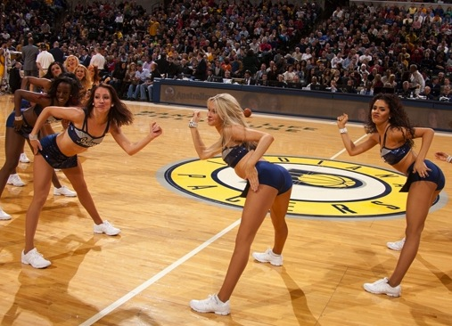 13 indiana pacers pacemates - hottest cheerleaders 2013 nba playoffs 2