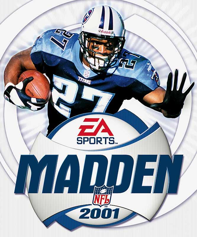 14 Madden NFL 2001 (Eddie George) - madden nfl covers