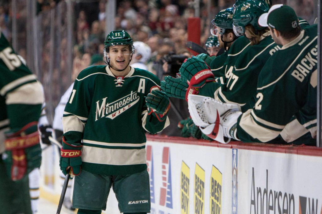 14 minnesota wild zach parise - 2013 stanley cup playoffs