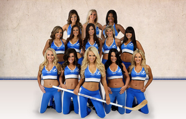 14 tampa bay lightning girls - nhl ice girls and cheerleaders 2013