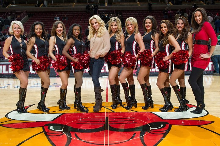 16 chicago bulls luvabulls cheerleaders - hottest cheerleaders 2013 nba playoffs