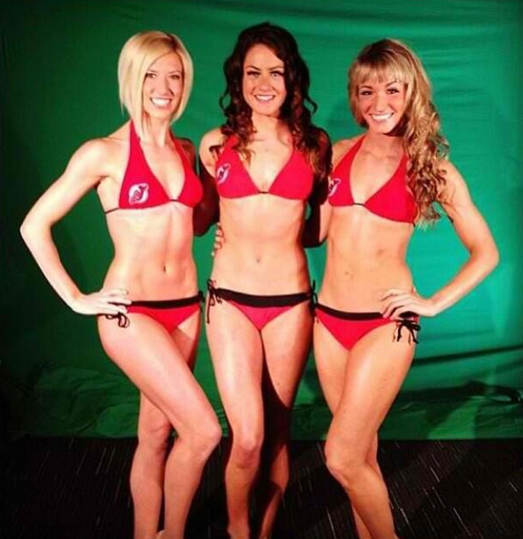 18 new jersey devils dancers 2 - nhl ice girls and cheerleaders 2013