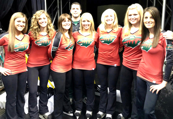 19 minnesota wild ice crew - nhl ice girls and cheerleaders 2013