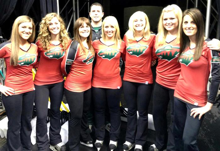 19 minnesota wild ice crew - nhl ice girls and cheerleaders 2013