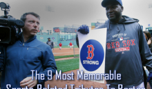 The 9 Most Memorable Sports-Related Tributes To Boston