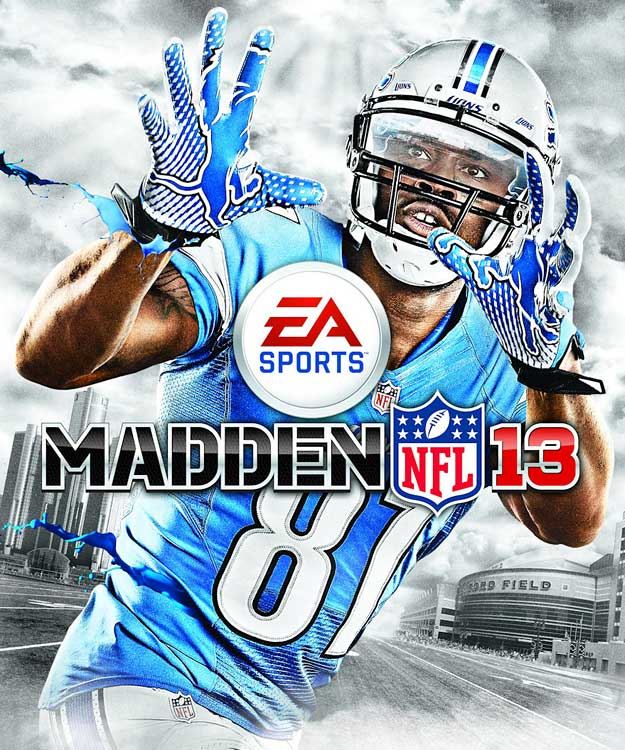 2 Madden NFL 13 (Calvin Johnson) - madden nfl covers
