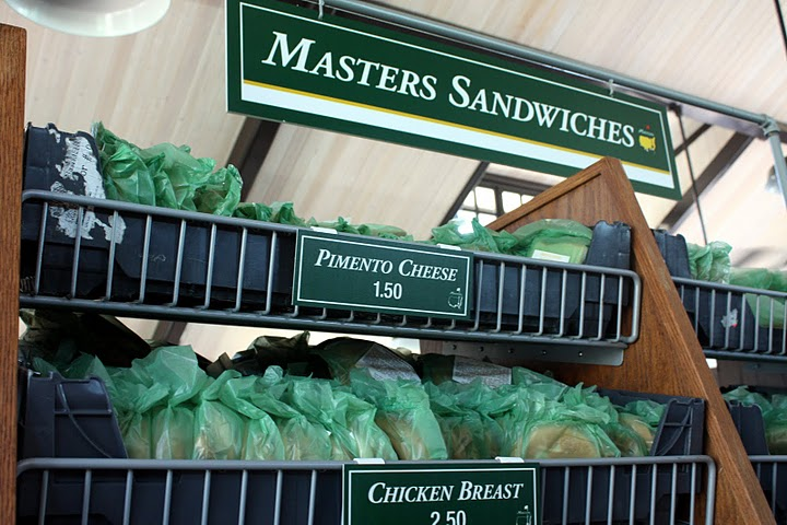 2 augusta national masters food (masters sandwiches)