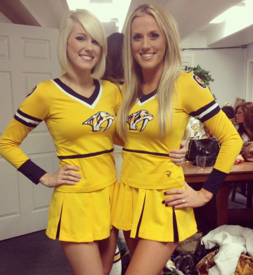 2 nashville predators ice girls 2 - nhl ice girls and cheerleaders 2013