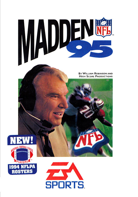 20 Madden NFL 95 - madden nfl covers