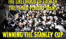 The Likelihood of Each of the 16 NHL Playoff Teams Winning the Cup