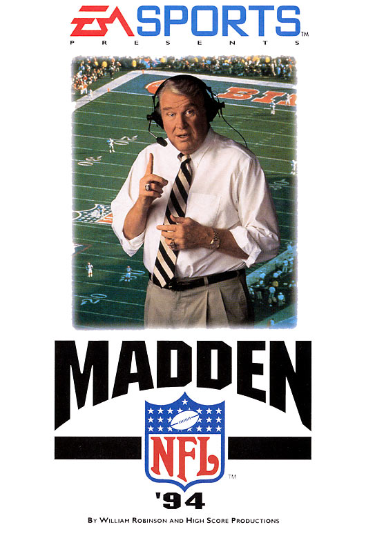 21 Madden NFL 94 - madden nfl covers