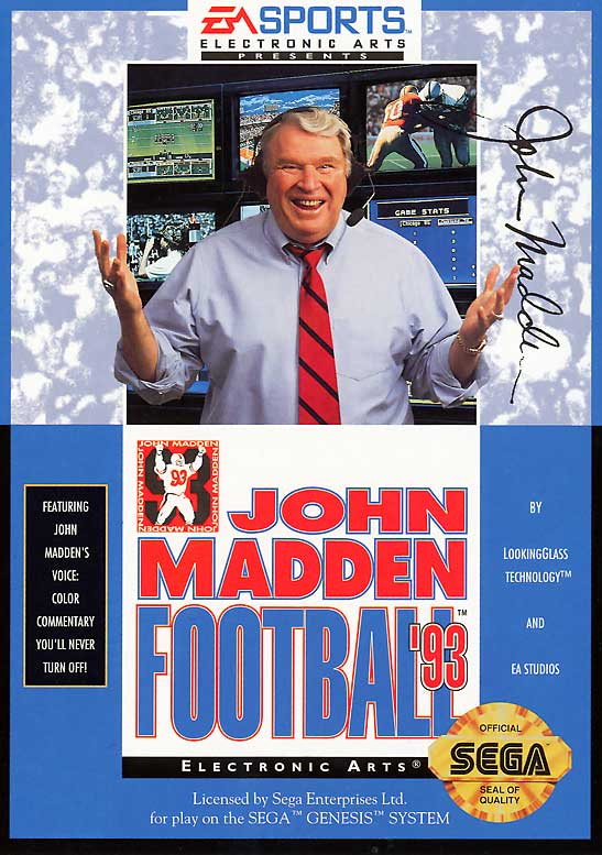 22 John Madden Football 93 - madden nfl covers