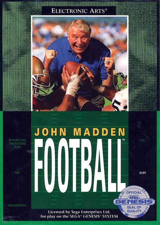 24 john madden football 1990 - madden nfl covers