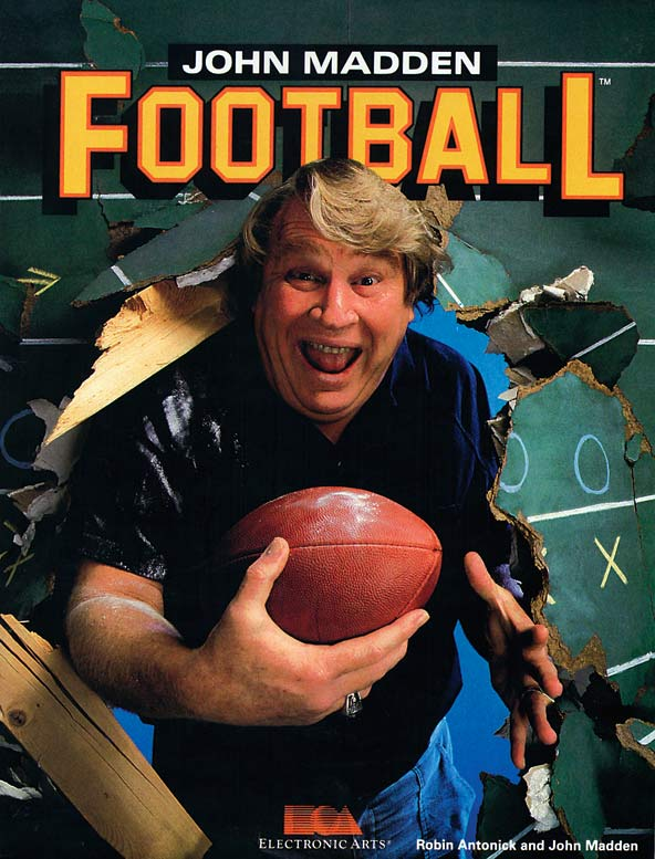 25 madden cover 1988 - madden nfl covers