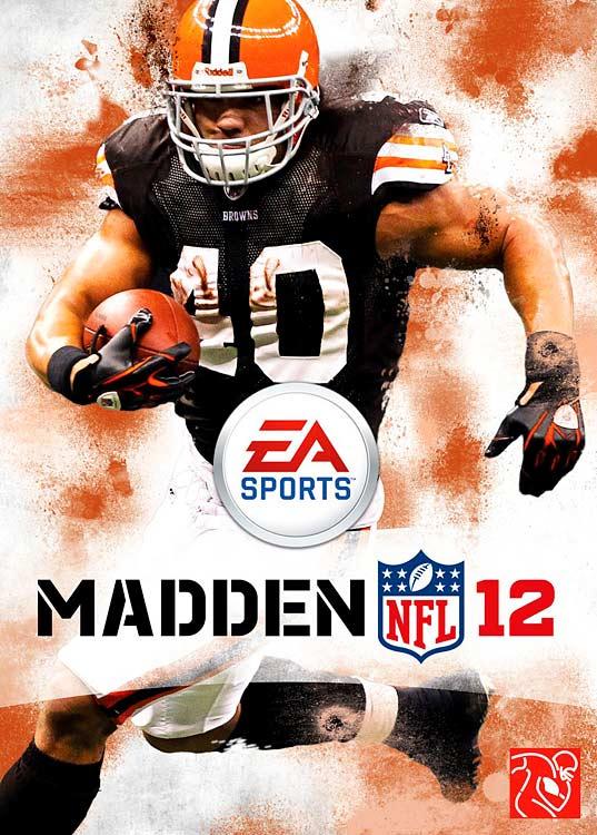 3 Madden NFL 12 (Peyton Hillis) - madden nfl covers