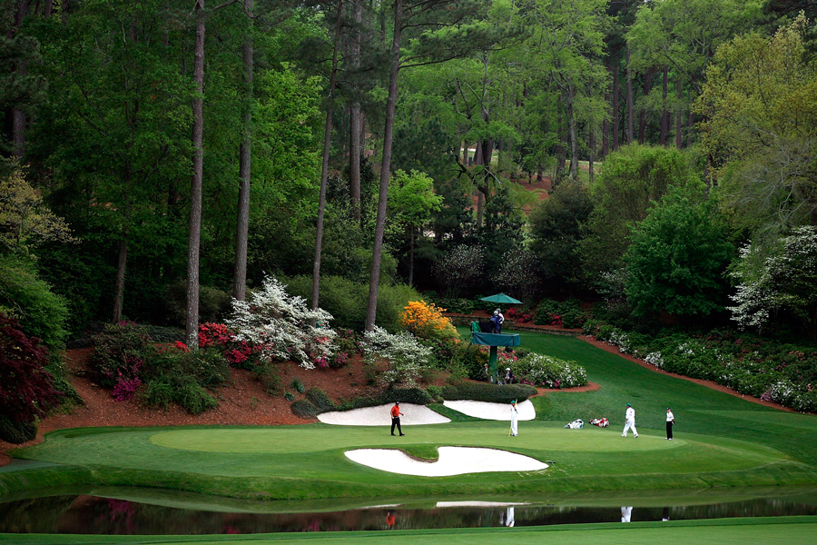 3 augusta national golf course