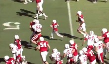 Jack Hoffman, 7-Year-Old Cancer Patient, Scores 69-Yard Touchdown at Nebraska Cornhuskers Spring Game (Video)