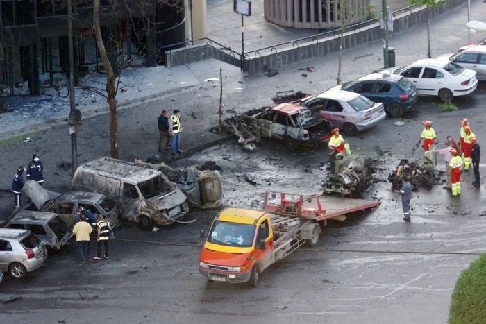 8 car bomb outside bernabeu madrid 2002
