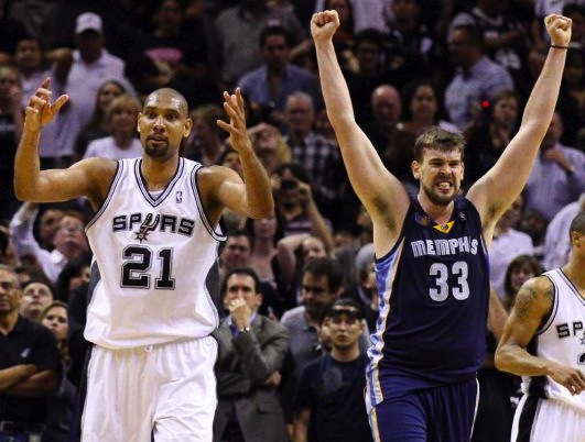 8 memphis grizzlies san antonio spurs 2011 - biggest nba playoff upsets