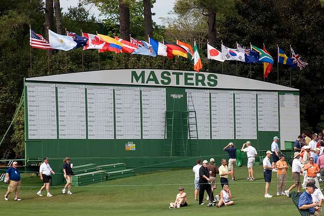 8 the masters scoreboard
