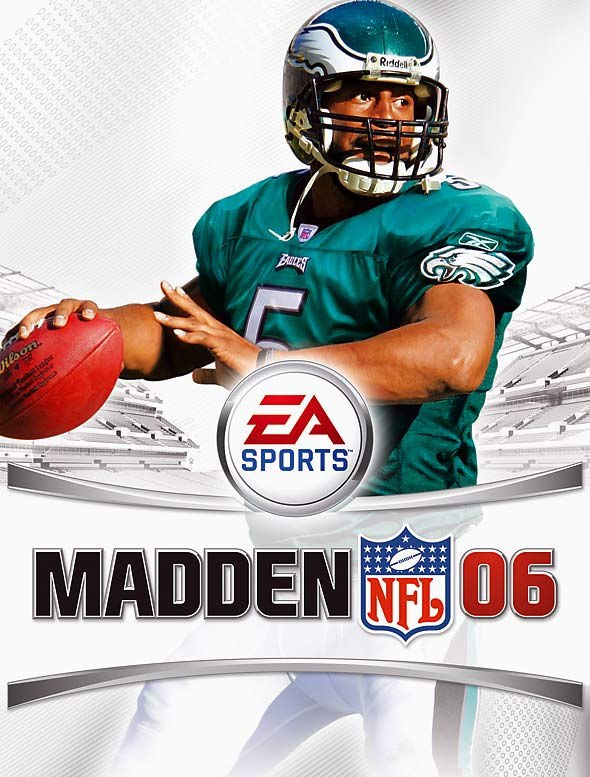 9 Madden NFL 06 (Donovan McNabb) - madden nfl covers