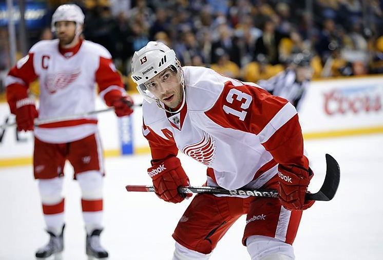 9 detroit red wings datsyuk zetterberg - 2013 stanley cup playoffs
