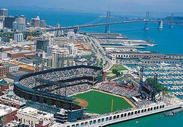 AT&T Park - best MLB stadiums 2013