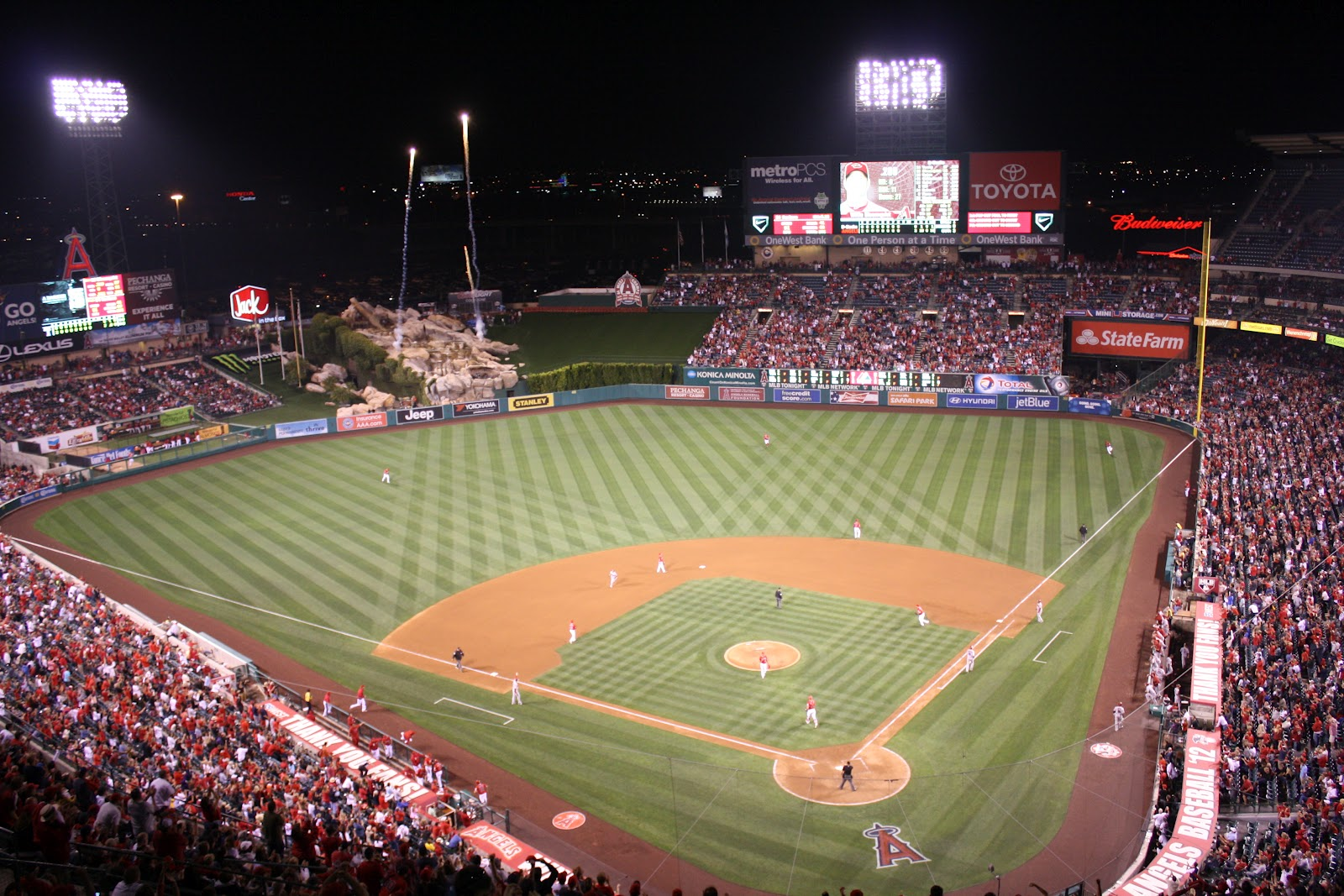 Angels Stadium - best MLB stadiums 2013