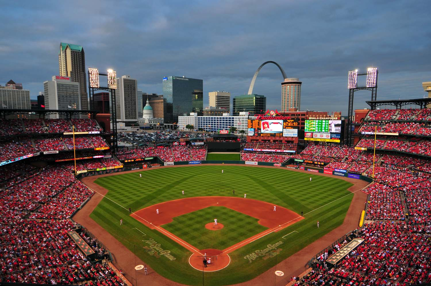 Busch Stadium - best MLB stadiums 2013