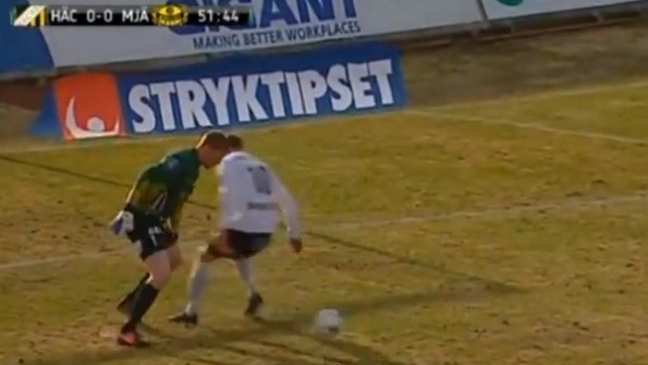 Christoffer Källqvist nutmeg
