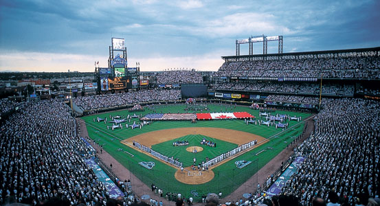 Coors Field - best MLB stadiums 2013