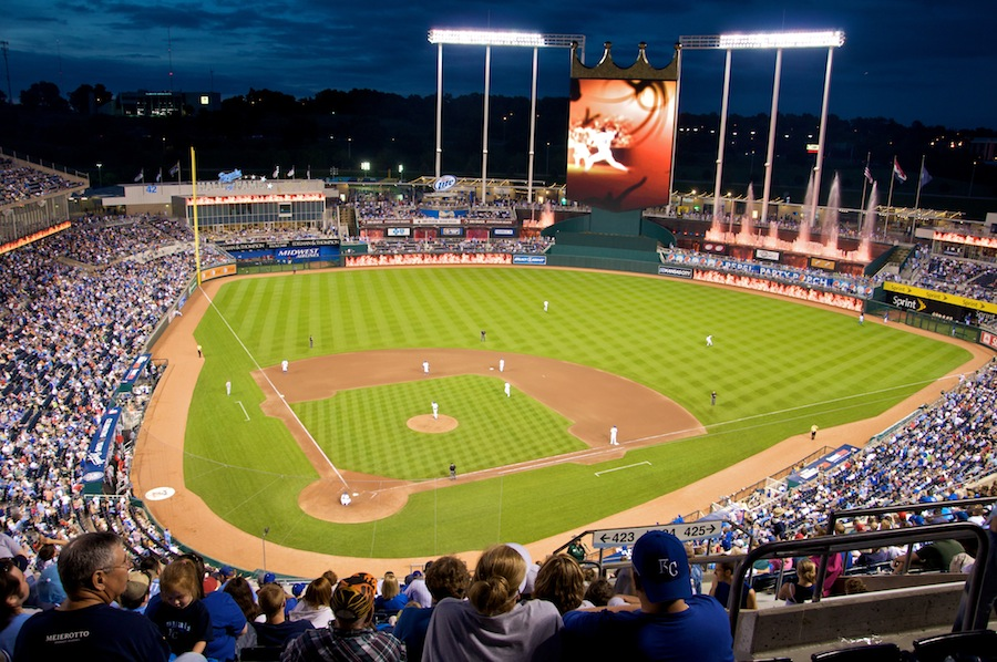 Kauffman Stadium - best MLB stadiums 2013