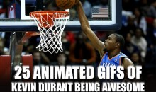 25 Animated GIFs of Kevin Durant Being Awesome