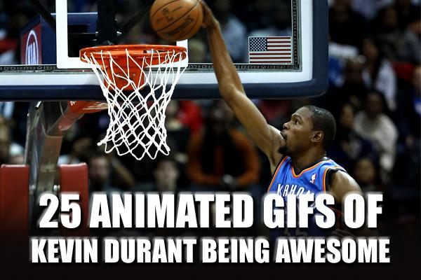 Kevin Durant GIFs (basketball NBA GIFs)