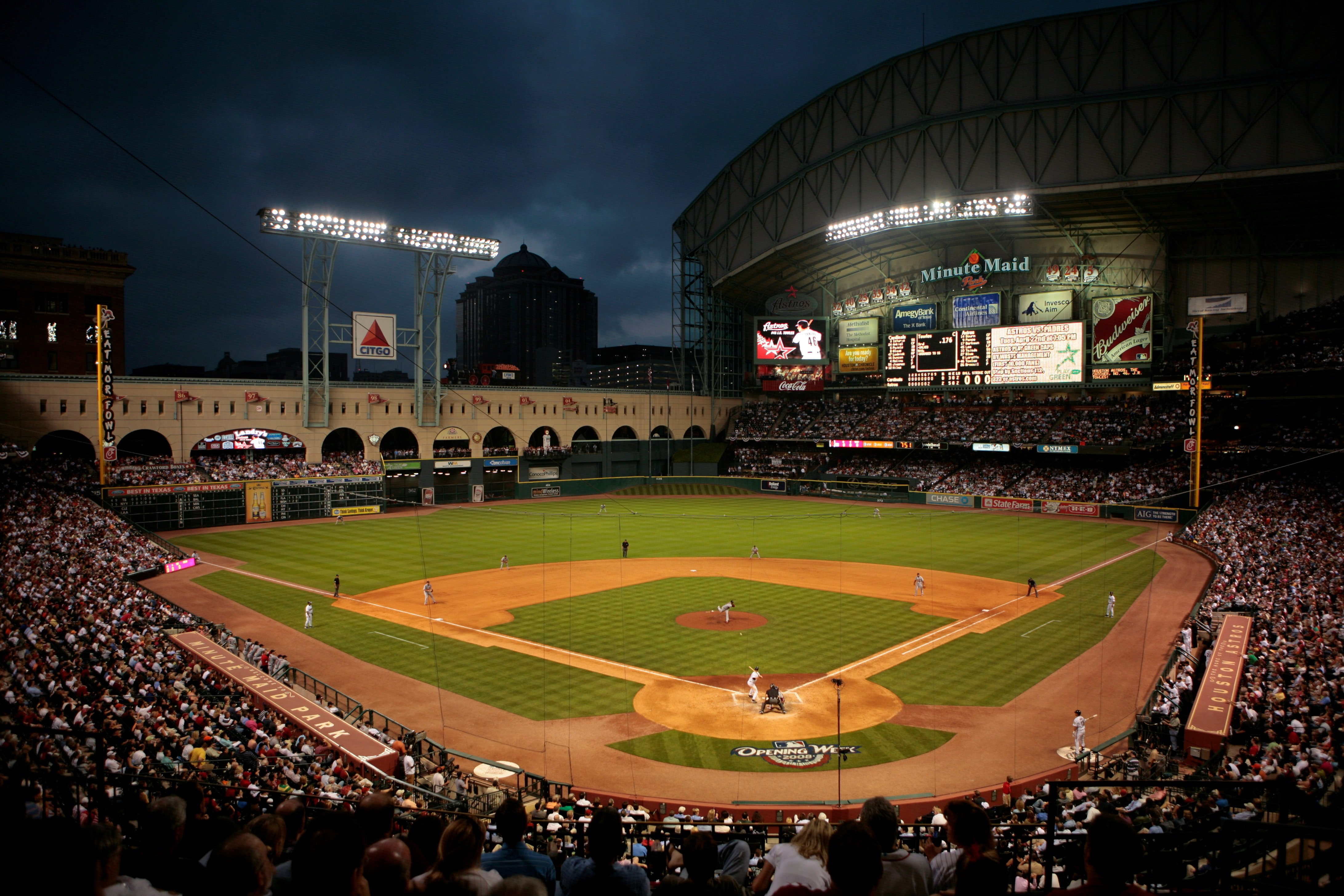 Minute Maid Park - best MLB stadiums 2013