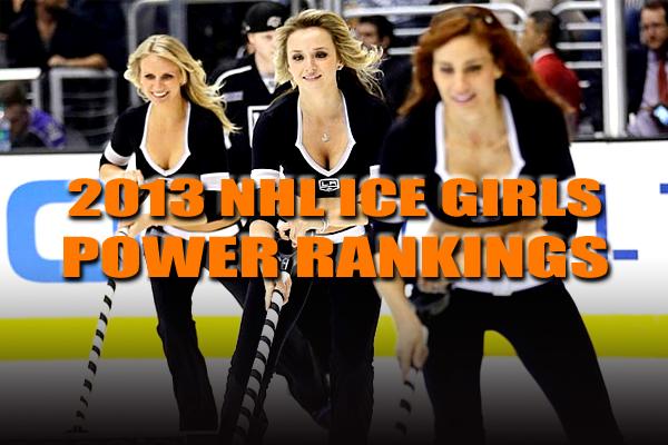 NHL ice girls 2013
