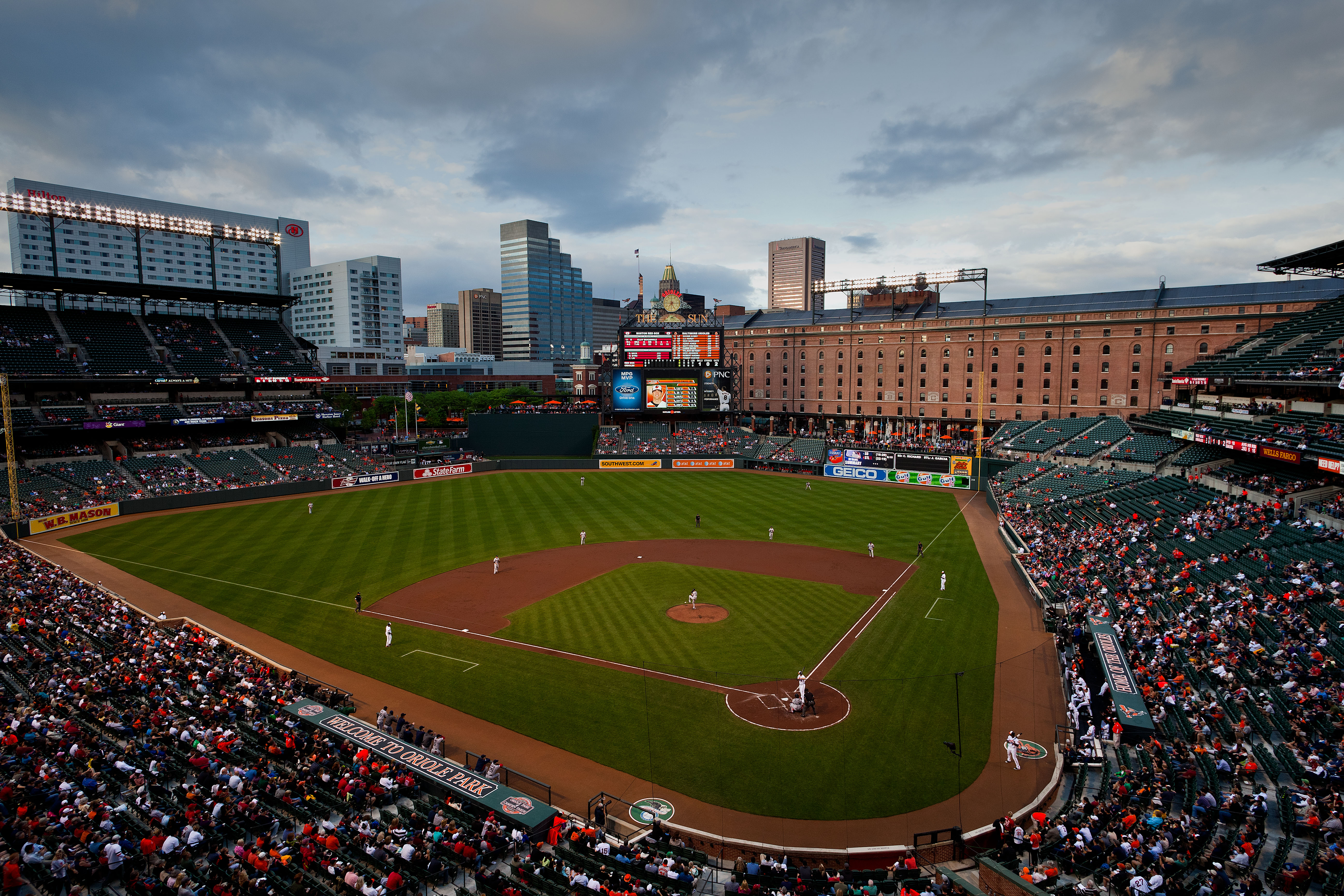 Oriole Park at Camden Yards - best MLB stadiums 2013