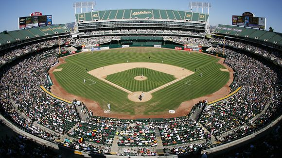 Overstock.com Coliseum - best MLB stadiums 2013