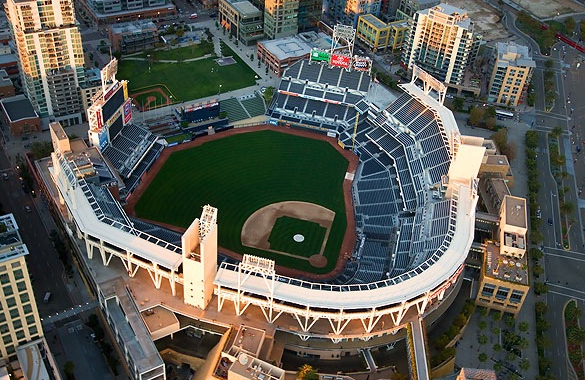 Petco Field, Downtown San Diego, California.