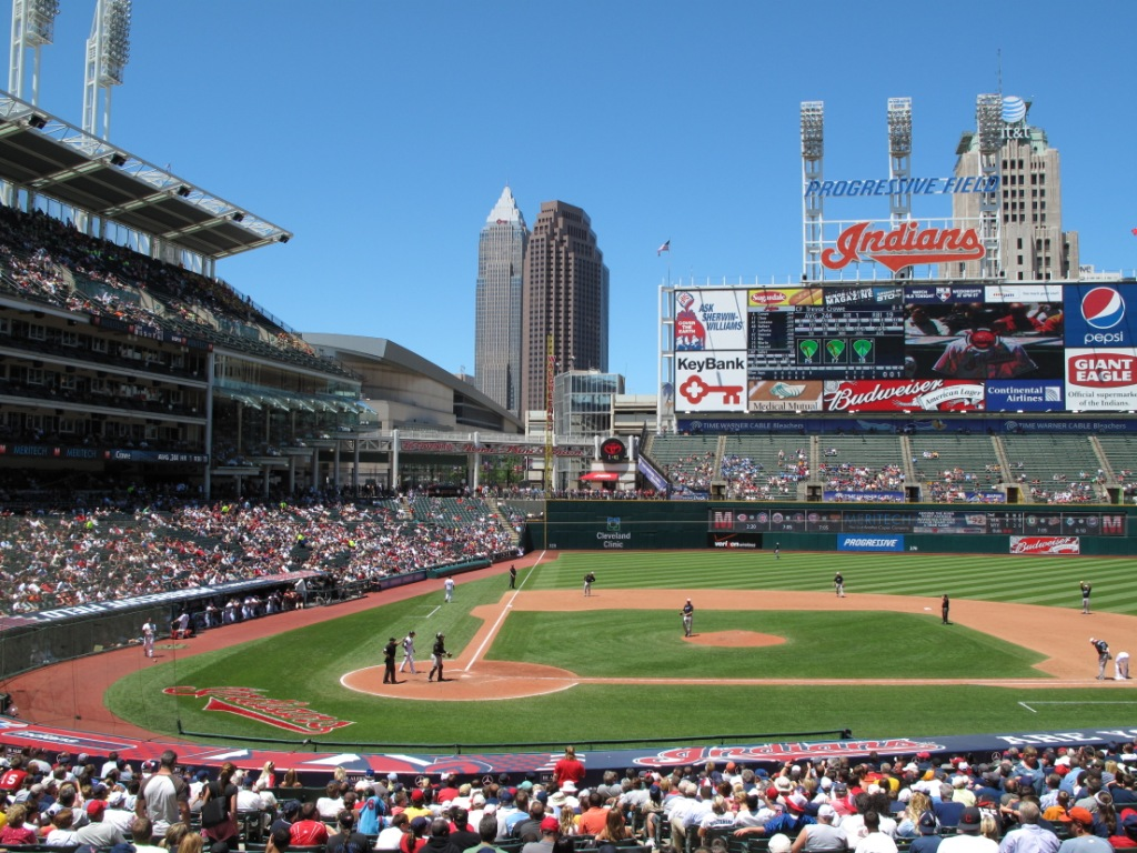 Progressive Field - best MLB stadiums 2013